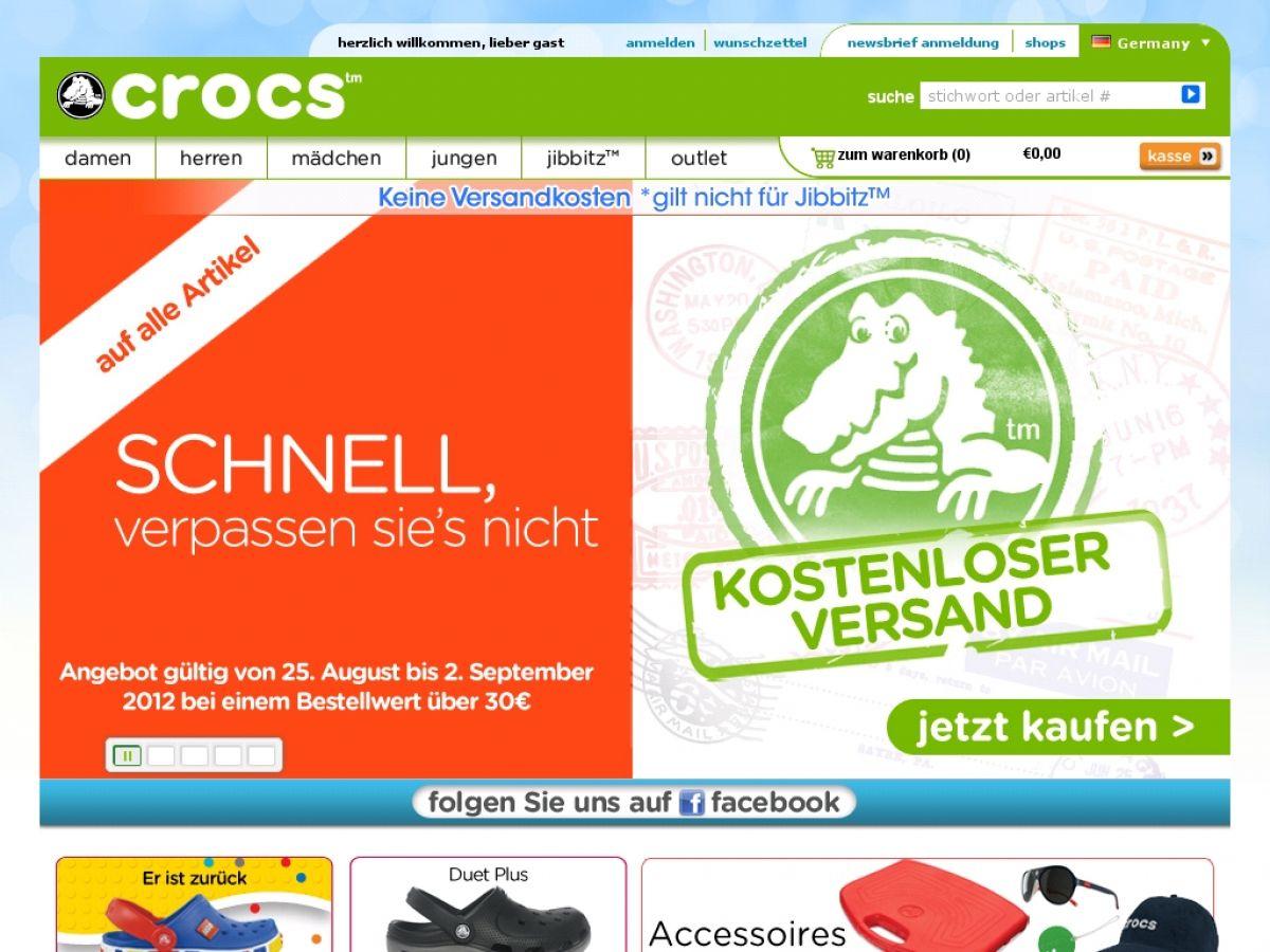 www.Crocs.de