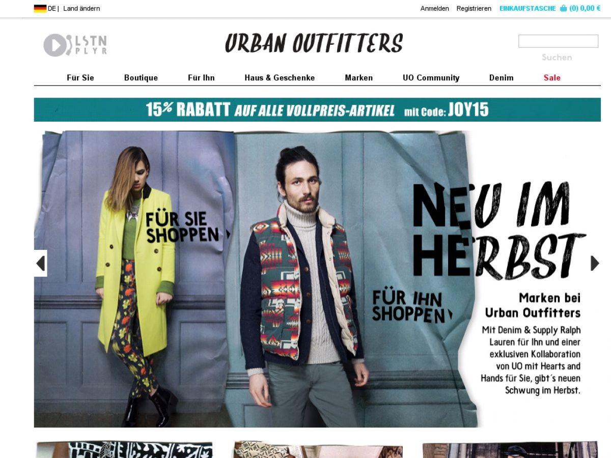 www.Urbanoutfitters.de