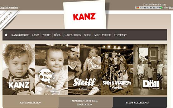 www.Kanz-Babykleidung.de